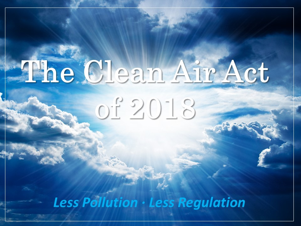 The Clean Air Act of 2018 - v4