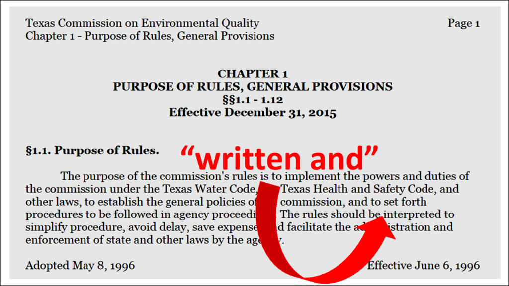petition for reducing rulemaking2